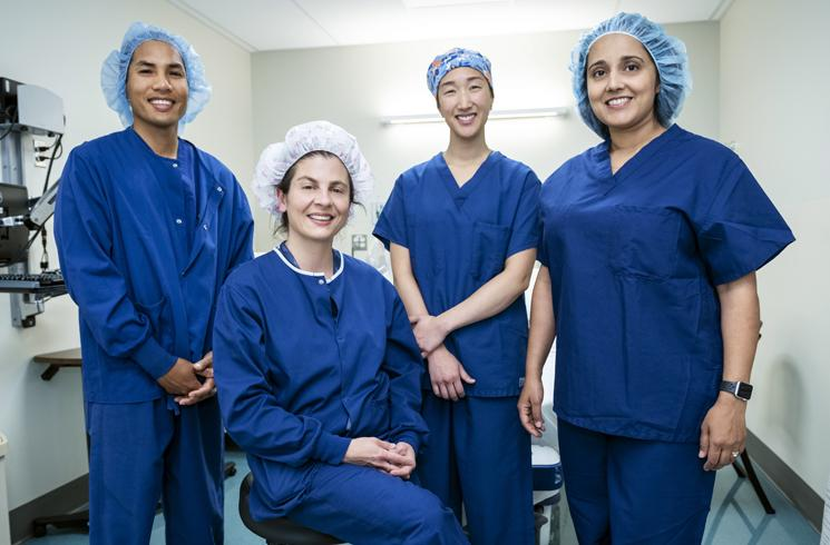 anesthesia team